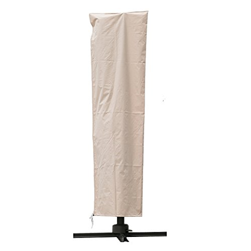 C-Hopetree Outdoor Storage Cover for Offset Cantilever Patio Umbrella - Beige
