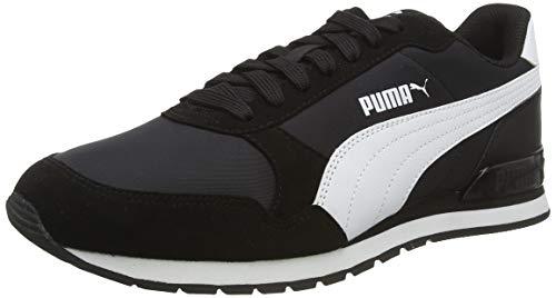 PUMA Unisex-Erwachsene St Runner V2 Nl Sneaker, Schwarz (Puma Black-Puma White 01), 39 EU