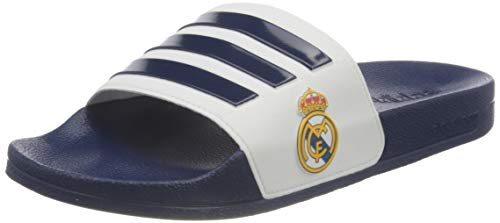 adidas Adilette Shower, Slide Sandal Hombre, Dark Blue/Footwear White/Dark Blue, 44 2/3 EU