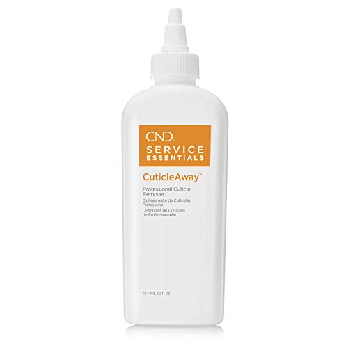 CND Cuticle Away Moisturizing Professional Cuticle Remover and Callus Softener, Allows Quick, Easy and Thorough Nail Prep, 6 fl oz