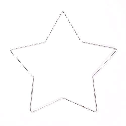 Vaessen Creative Anillo de Metal en Forma de Estrella para M
