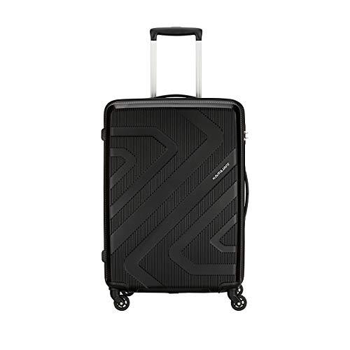 Kamiliant by American Tourister KAM Kiza Polypropylene 55 cms Black Hardsided Cabin Luggage (KAM...