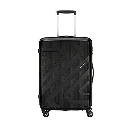 Kamiliant by American Tourister KAM Kiza Polypropylene 79 cms Black Hardsided Check-in Luggage (KAM KIZA SP 79CM - BLACK)