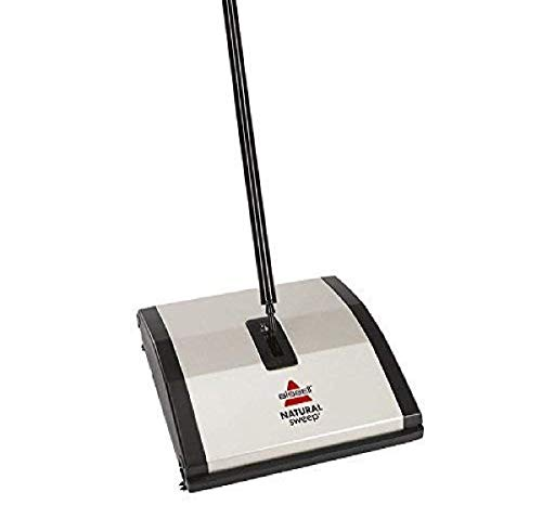 Bissell Natural Sweep Carpet and Floor Sweeper with Dual Rotating...