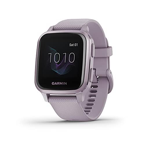 Garmin Venu Sq, Reloj Inteligente con GPS, Lavanda