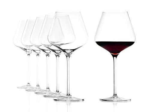 Stölzle Lausitz Bicchieri di Vino Rosso di Bordeaux Quatrophil, 708ml, Set da 6, calici...
