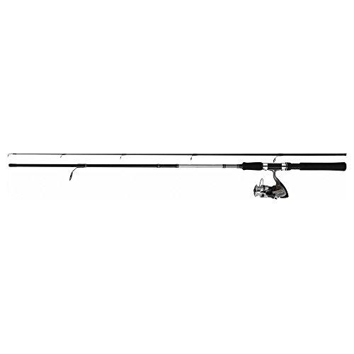 DaiwaSet canna da pesca SWEEPFIRE + mulinello DF Spinning, speciale da lancio con esca, 2m10 + DF2000A