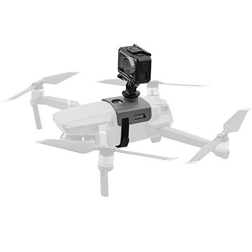 iEago RC Adattatore Mavic 2 PRO Fotocamera Panoramica Fissa Montare Lo Stabilizzatore Kit di Espansione Girevole a 360 Gradi con 1/4 'Hole per Gopro/OSMO Action/Insta360 One X (Non per Mavic PRO)