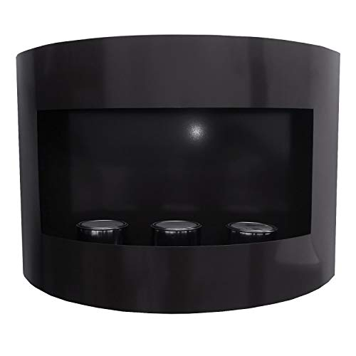 Kaminbau Mierzwa ( df-shopping ) Marseille Gel and Ethanol Fireplace - Choose from 6 Colours Black
