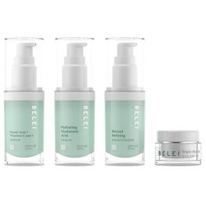 Belei by Amazon: Beauty Solutions Deluxe Mini-Size Skin Care Set, All Skin Types 21