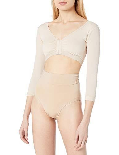 Annette Women's Arm Sleeve Compression Garment, Beige, Medium