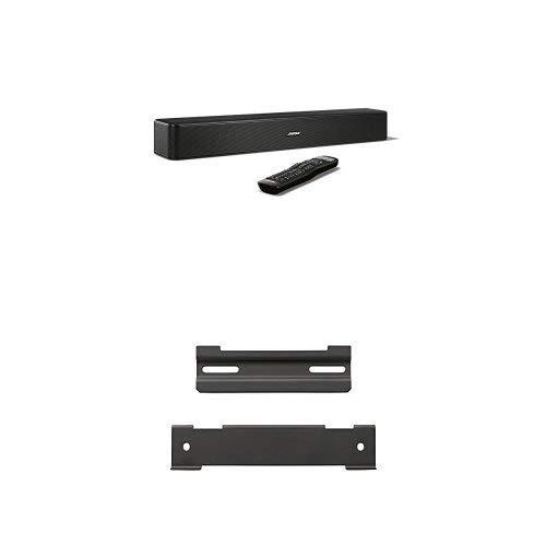 Bose® Solo 5 - Barra de sonido para televisores, negro + Bose WB-120 - Soporte de pared para barra de sonido, negro