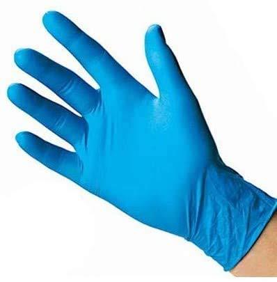 SkinBlu 100 Guanti Monouso Guanti in Nitrile Senza Polvere Extreme Sensitive 100% Latex Free Maggior...