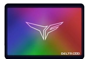TEAMGROUP T-Force Delta MAX RGB SSD 500GB 2.5 inch SATA III 3D NAND Internal Solid State Drive (T253TM500G3C302)