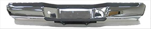 Sherman Replacement Part Compatible with Nissan-Datsun Frontier Rear Bumper Face Bar (Partslink Number NI1102136)