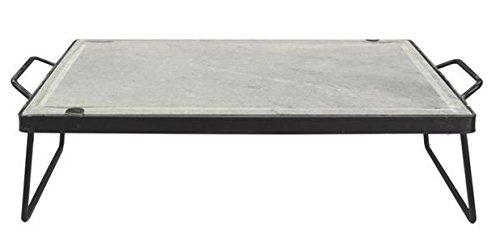 Belodi 78874-25 Pietra Ollare Dietetica su Supporto Grande, 40x60 cm
