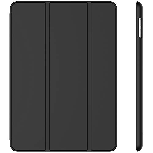 JETech Case for Apple iPad (9.7-Inch, 2018/2017 Model, 6th/5th Generation), Smart Cover Auto Wake/Sleep, Black