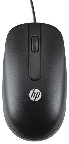 HP USB 1000dpi Laser Mouse - Ratón (USB, Laser, Oficina, Negro, Ambidextro, Monótono)