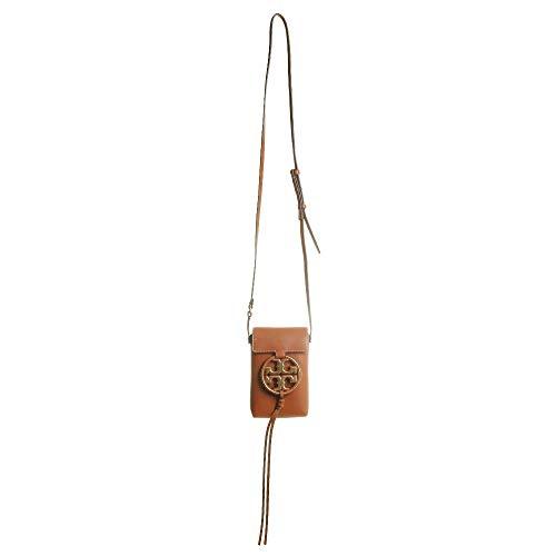 31kJ4OBj7hL Leather: Cowhide Cutout logo with tassel detail, Gold-tone hardware Length: 4.25in / 11cm