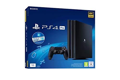 Sony PS4 PRO PlayStation Gamma Chassis + PS Live Card 20€, 4K HDR, 1 TB [Esclusiva Amazon.it]