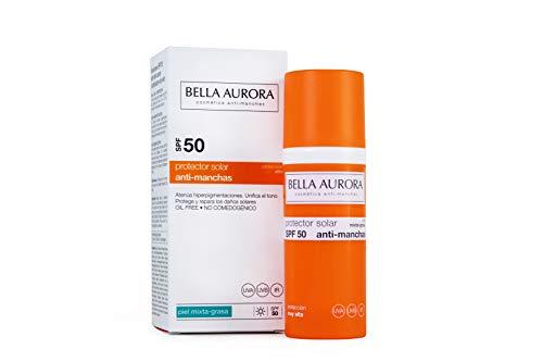 Bella Aurora Protector Solar Facial SPF +50 Piel Mixta-grasa