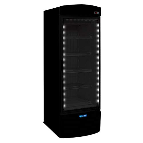 Freezer/Expositor Vertical Metalfrio ALL BLACK 497 Litros VF50FH 220v 220v