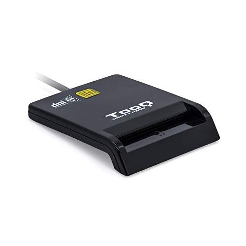 Tooq TQR-210B - Lector Externo de DNI electrónico y Tarjetas...
