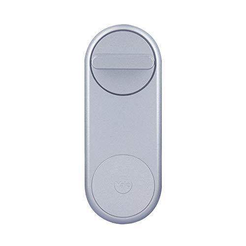 Yale 05/101200/SI Linus Smart Lock - Cerradura inteligente motorizada, Plata