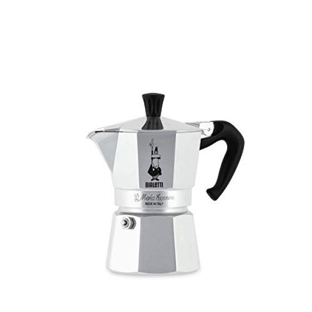 Nuova Moka Express 3 Xicaras Bialetti Coffee Maker 1142