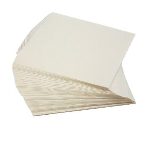 Norpro Square Wax Paper, 250 Pieces, Small, White