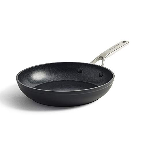 KitchenAid Padella Antiaderente in Alluminio Forgiato Indurito, Adatta a Tutti i Tipi di Fornelli, Induzione, Forno e Lavastoviglie, 28 cm, Nera