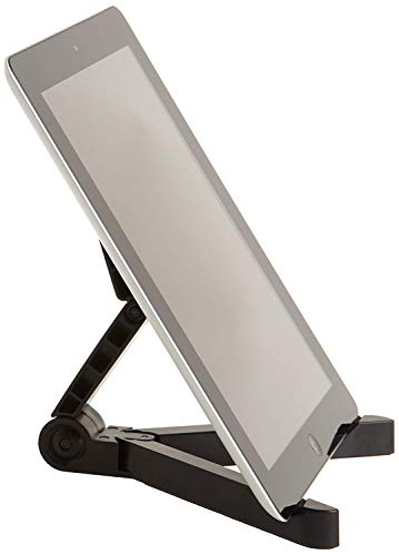 AmazonBasics Adjustable Tablet Holder Stand - Compatible...