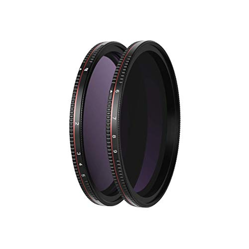 Freewell 82mm Threaded Hard Stop Variable ND Filter All Day 2 to...