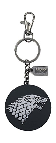 Game of Thrones Llavero logo de metal Stark, color plateado (SD Toys SDTHBO27519)