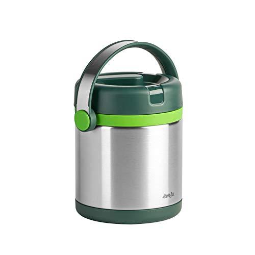 Emsa 512966 Mobility - Contenitore per alimenti, 1,2 L, colore: Verde