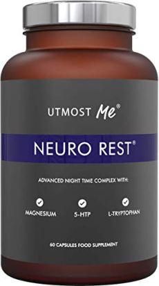 Sonniferi con 5-HTP, Magnesio, Melatonina Naturale, Camomilla, L-Triptofano