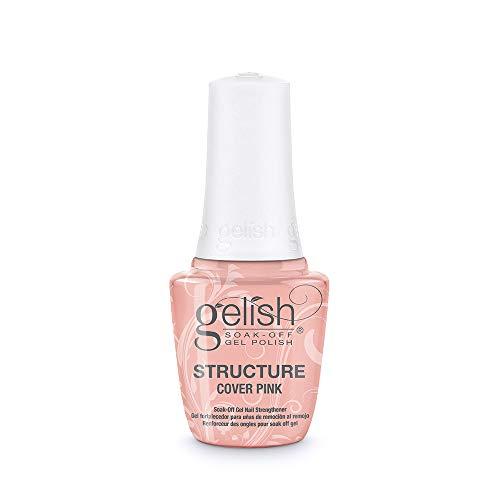 Gelish Cover Pink Brush-On Nail Streghtener, 0.5 oz.