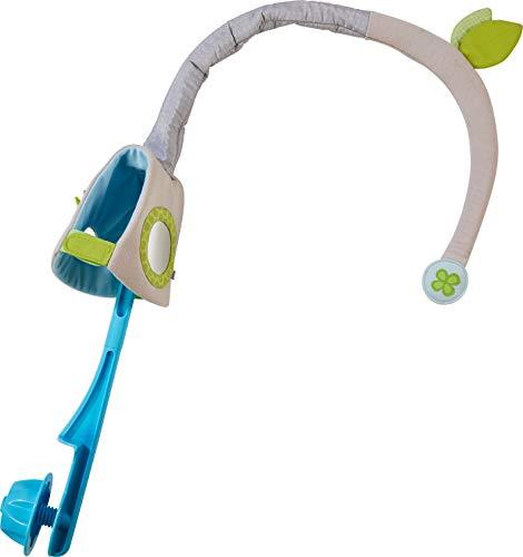 HABA 304282 - Mobile-Halterung Blätterbogen, geeignet für alle Mobiles, fixierbar an Stangen bis 5 cm Durchmesser, ideal als Geschenk zur Geburt und Taufe