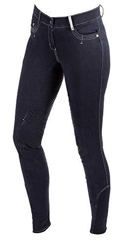 Kerbl Basicplus - Pantalones de equitación para Mujer, Color Azul, Talla 36