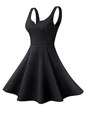 Material:95%polyester+5%cotton,soft thick smooth with stretchy. Features: above knee length,back zipper,a-line,sleeveless,sweetheart. Size: XS=US(0-2), S=US(4-6), M=US(8-10), L=US(12-14), XL=US(16-18). A perfect cute dress for this summer!!! A wisest...