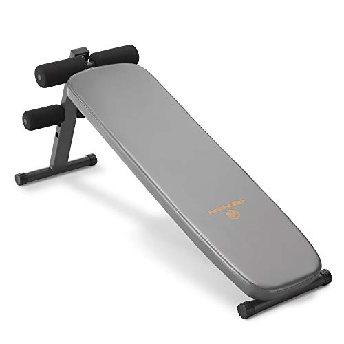 Apex Utility Bench Slant Board Sit Up Bench Crunch Board Ab Bench for...