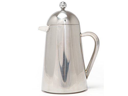 La Cafetière Thermique Kaffeebereiter, isoliert, französische Kaffeepresse, Stahl, 3 Tassen