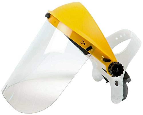 Maschera protettiva light con visiera in policarbonato protezione viso occhi con striscia antisudore