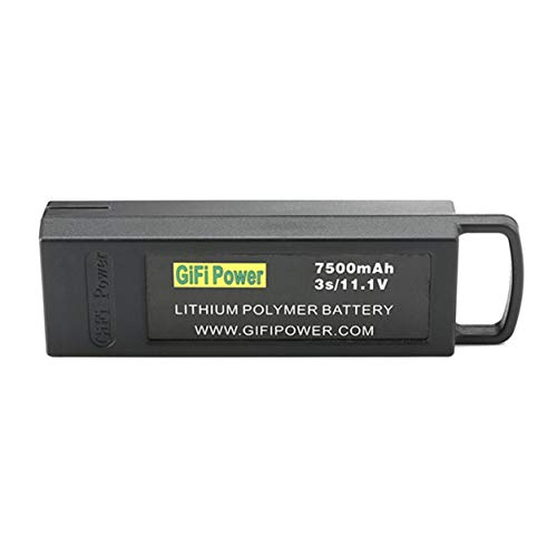 Dailyinshop 7500mAh 11.1V 3S Volo Lipo Batteria Esterna Grande capacit Drone Batteria di Backup per...