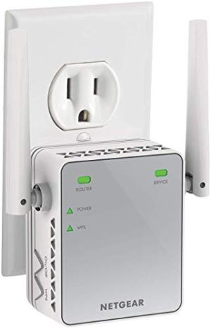 NETGEAR WiFi Range Extender EX2700 – Coverage up to 800 sq.ft. and 10 Devices with N300 Wireless Signal Booster…