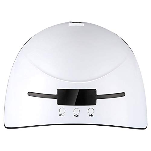 WEI MOLO@ Nail Lamp for Gel Polish,36W Professional Nail Dryer UV LED Nail Lamp with 3 Timer Setting,LCD Display White