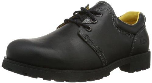 Panama Jack Panama 02, Zapatos de Cordones Brogue para Hombre, Schwarz, 43 EU