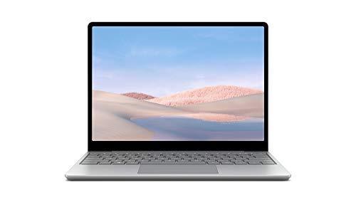 Microsoft Surface Laptop Go - Ordenador portátil 2 en 1 de 12.4' (Intel Core i5-1035G1, 8GB RAM, 128GB SSD, Intel Graphics, Windows 10) Platino - Teclado QWERTY Español