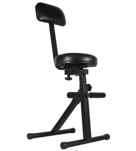 Pro X / TOV T-DJChair Portable DJ/Guitar/Drum/Keyboard Padded Throne/Chair