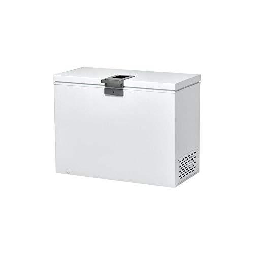 Candy CMCH 252 EL Congelatore a pozzetto orizzontale, 255 Litri, con Serratura, Temperatura Regolabile, Silenzioso, Libera Installazione, 112x57x84.5 cm, Bianco